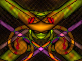 Attack Of The Neon Mantis by Flmngseabass, abstract gallery