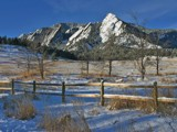 Glorious Flatirons by Yenom, Photography->Mountains gallery