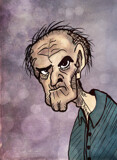 Grizzled Old Man by bfrank, illustrations gallery