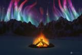 Cwm Aurora by Akeraios, computer->landscape gallery