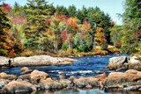 Adirondack Autumn by muggsy, Photography->Water gallery