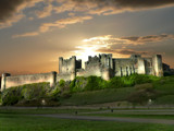 Bamburgh Castle at Night... by shedhead, Photography->Manipulation gallery