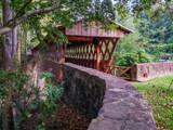 Clarkson Covered Bridge by Pistos, photography->bridges gallery