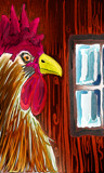 Rooster In The Hen House by bfrank, illustrations gallery