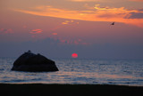 the rock in rock harbor by solita17, Photography->Sunset/Rise gallery