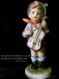 Boy With A Fiddle by mesmerized, photography->sculpture gallery