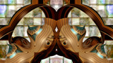 Lovebirds by Flmngseabass, abstract gallery