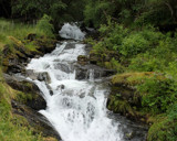 Green and Falls by RBanerji, Photography->Waterfalls gallery