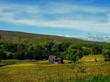 Haymeadow and Hut by biffobear, photography->landscape gallery