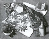 Escher 1 by MC Escher, Illustrations->Traditional gallery