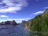 Peak Shoreline by timw4mail, computer->landscape gallery