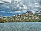 Caples Lake/Roundtop Mountain by Flmngseabass, Photography->Landscape gallery