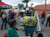 Mom and Oscar the robot by GomekFlorida, photography->people gallery
