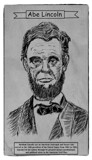 Abraham Lincoln by bfrank, illustrations gallery