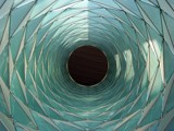 Folded Glass Tube by haynen, Photography->Architecture gallery