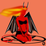 Hell's Pixie by Jhihmoac, illustrations->digital gallery