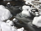 El Dorado Canyon Falls - Winter 02 by Yenom, photography->nature gallery