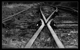 disused rails by JQ, Photography->Trains/Trams gallery