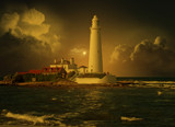 Sunrise over St Marys by biffobear, photography->manipulation gallery