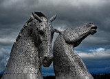 The Kelpies by biffobear, photography->sculpture gallery
