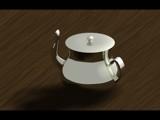 Tea Kettle by tbhockey, computer->3d gallery
