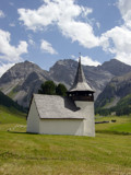 Chapel at Sertig by usersandro, Photography->Mountains gallery
