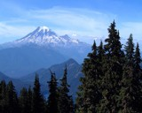 Painted Rainier by chukar22, Photography->Mountains gallery