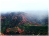 Fog Lifting - Waimea Canyon, Kauai by trixxie17, photography->mountains gallery