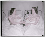 Stepping out of time Twins become mothers together by rvdb, photography->manipulation gallery