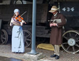 Northumbrian Piper and Fiddler by biffobear, photography->people gallery