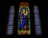 Stained Glass V by 100k_xle, photography->places of worship gallery