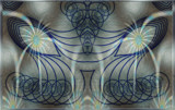 Blue Seraph by Flmngseabass, abstract gallery