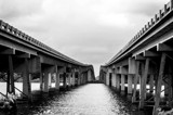 Long Bridge Over The River by bfrank, contests->b/w challenge gallery