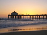 Manhattan Beach Pier Sunset by Sgtpepper, Photography->Sunset/Rise gallery
