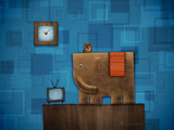 Square Elephant by vladstudio, Illustrations->Digital gallery