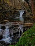 Slit wood falls... by biffobear, photography->waterfalls gallery