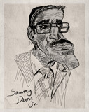 Sammy Davis Jr. by bfrank, illustrations gallery