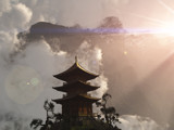Temple in the Clouds by DigitalFX, Computer->Landscape gallery