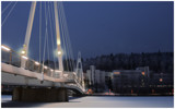 Wintertime bridge by Juhe, Photography->Bridges gallery