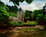 CHURCH  AT WATERS EDGE by LANJOCKEY, Photography->Places of worship gallery