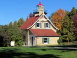 Eagle Bluff Lighthouse, Door County, Wisconsin by Pistos, photography->lighthouses gallery