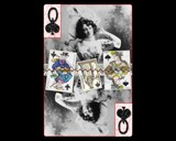 Queen of Spades by kazadoodle, Caedes->Cards gallery