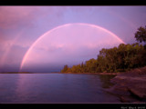 Sunset Rainbow by d_spin_9, Photography->Shorelines gallery