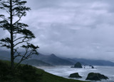Haystack Rock viewed from Above the Pacific by verenabloo, Photography->Shorelines gallery