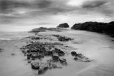 Peaceful Drama B&W by dmk, Photography->Shorelines gallery