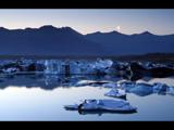 Iceberg Moonrise by jma55, Photography->Shorelines gallery
