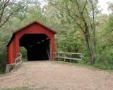 Sandy Creek Covered Bridge by jojomercury, photography->bridges gallery