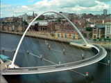 The Millennium Bridge\Newcastle upon tyne by shedhead, Photography->Bridges gallery