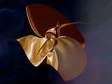 Golden sculpture in the sun by DigitalFX, Computer->3D gallery