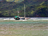 drama at hanalei bay by jeenie11, Photography->Boats gallery